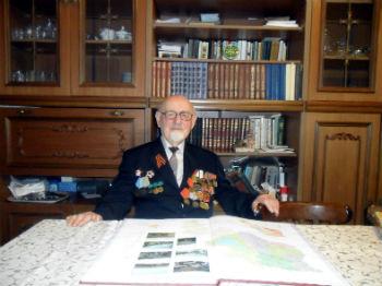 Рианос Мкртчян, ветеран Отечественной войны, 92 года