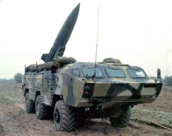 """Тактические ракетные комплексы """"Точка""""."""