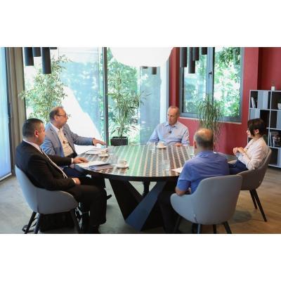 Роберт Кочарян на встрече с представителями армянских СМИ