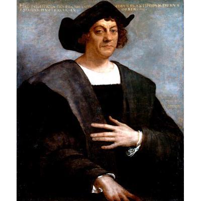 Портрет Христофора Колумба, 1519 год