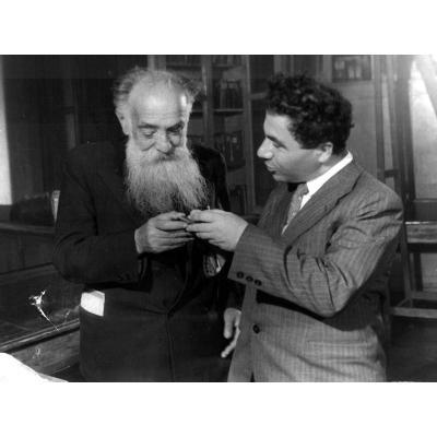 Виктор Амбарцумян и Иосиф Орбели