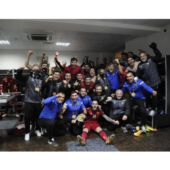 Сборная Армении со счетом 2:1 одержала выездную победу над сборной Грузии в матче пятого тура Лиги наций УЕФА (дивизион 'С', вторая группа)
