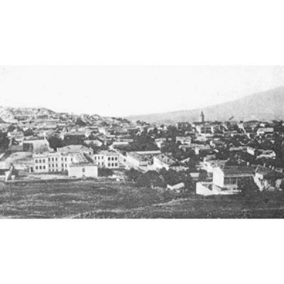 Общий вид армянского квартала Шуши (XIX в.)