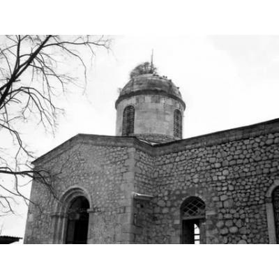Армянский храм Святого Иоанна Крестителя в Шуше, он же церковь Канач Жам