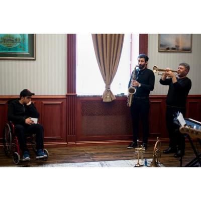Джаз-концерт для раненых воинов