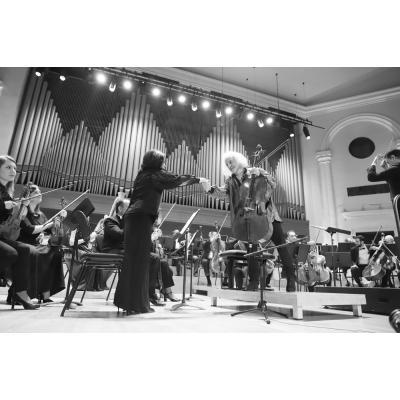 Концерт Национального филармонического оркестра под управлением Эдуарда Топчяна с участием Миши Майского