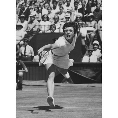 Американская теннисистка Билли Джин Кинг сыграла огромную роль в формировании женского профессионального спорта