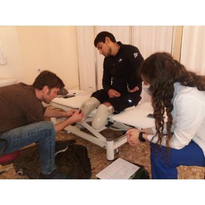 В реабилитационном центре 'Защитник Отечества' идет подготовка к протезированию участников второй Карабахской войны