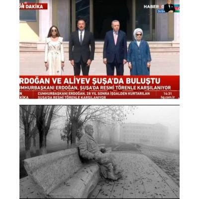 Исполнилась 300-летняя мечта турок: лидер Турции вошел в город-крепость