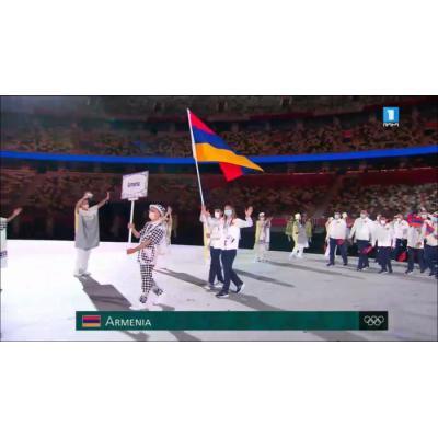 В Токио состоялась торжественная церемония открытия 32-х летних Олимпийских игр