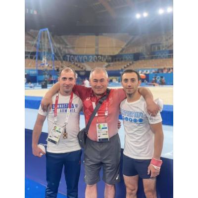 С 24 по 26 июля на Олимпийских играх в Токио выступили 4 армянских спортсмена (гимнастика, стрельба, бокс, дзюдо)