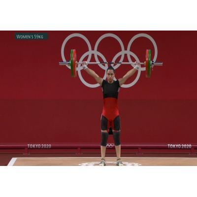 На проходящих в Токио XXXII летних Олимпийских играх тяжелоатлетка Изабелла Яйлян (59 кг) заняла 7-е место