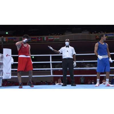 Боксер Оганес Бачков (63 кг) победил в 1/8 финала олимпийского турнира в Токио азербайджанца Джавида Челебиева и вышел  в четвертьфинал