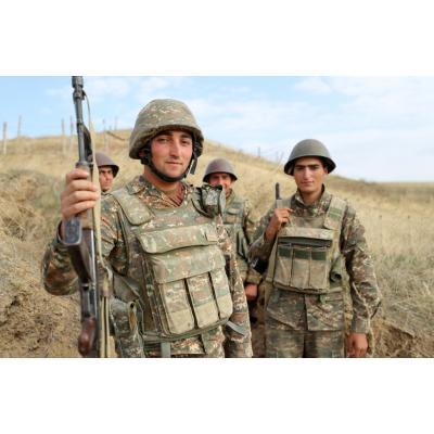 Бойцы Армии освобождения Арцаха