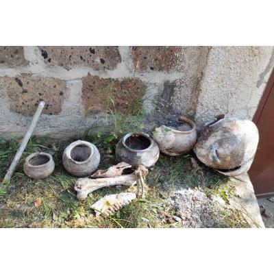 Во время строительных работ в районе Хндзорут Ванадзора были обнаружены гробницы