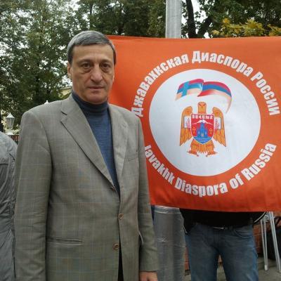 Президент общественной организации 'Джавахкская диаспора России' Агаси АРАБЯН