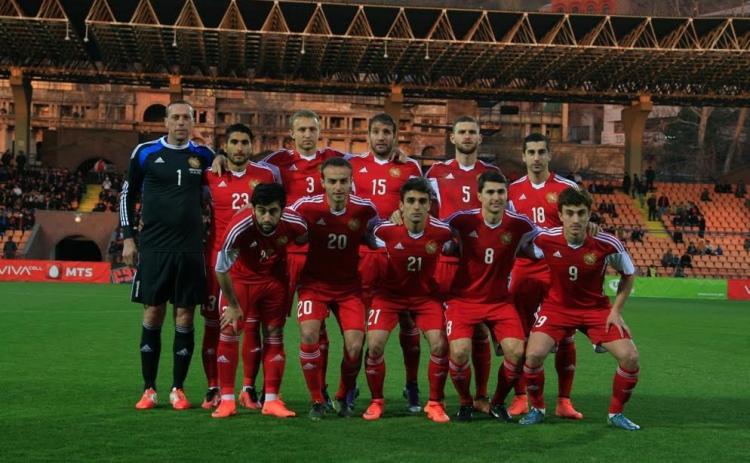 армяне в сборной по футболу 2015