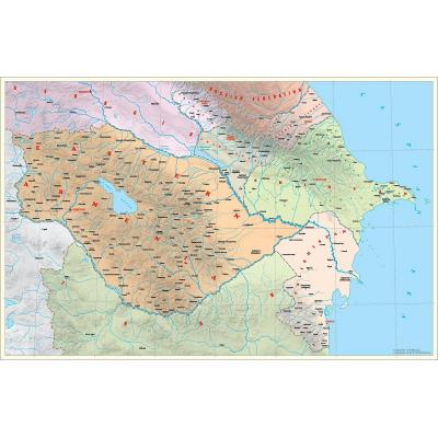 Футуристическая политическая карта нашего региона 'ВОСТОЧНАЯ АРМЕНИЯ. 2050 ГОД'