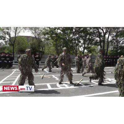 Будни Военного училища им. Монте Мелконяна