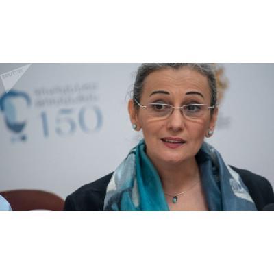 И.о. министра культуры Назени Гарибян