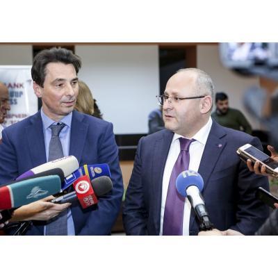Ашот Осипян и Кристоф Тискенс