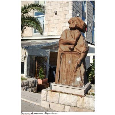 Корчульский памятник Марко Поло