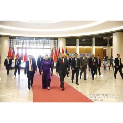 Официальный визит премьер-министра Армении Никола Пашиняна в Социалистическую Республику Вьетнам (СРВ)