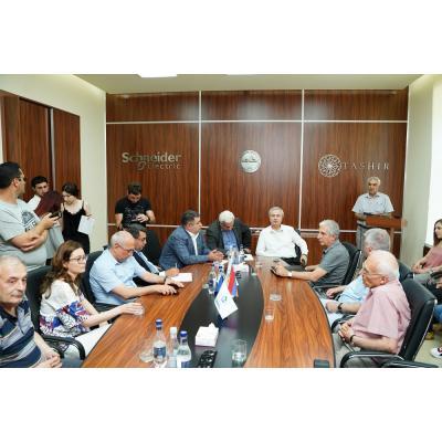 В национальном политехническом университете Армении состоялось подведение итогов конкурса по трудоустройству лучших выпускников вуза в компании ''Электрические сети Армении'
